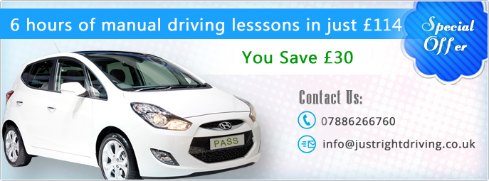 6 hours manual driving lessons in just 102 save 36
